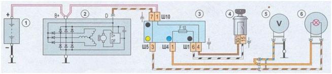 Описание генератора ваз 2107: как устроен и как его подключить своими руками?
